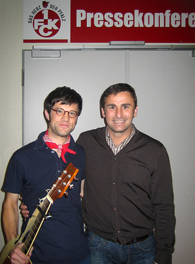 Stefan Kunz und Fred Erikson